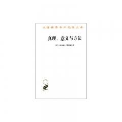 汉译世界学术名著丛书:真理、意义与方法