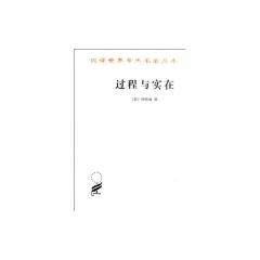 过程与实在:汉译世界学术名著丛书