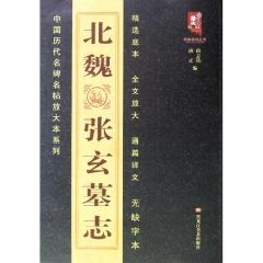 北魏 张玄墓志/中国历代名碑名帖放大本系列
