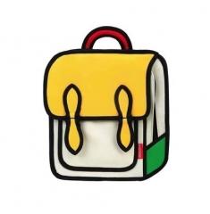 英国小象mobee儿童二次元书包 小学生男女孩幼儿园卡通2D双肩背包