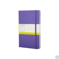 Moleskine 口袋型笔记本(紫红色纯白笔记本)