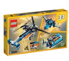 乐高LEGO 双螺旋桨直升机 31096