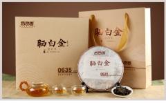 品品香 晒白金贡眉茶饼0635