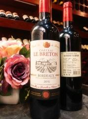 布列塔堡(Chateau le Breton)-原瓶进口干红葡萄酒
