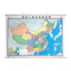 中华人民共和国地图(双全张 覆膜挂图)