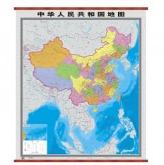 中华人民共和国地图(竖版)