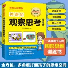 神奇的观察思考游戏书(想要拥有超乎想象的智慧体验吗?寓教于乐的图形思维训练书,全方位提升孩子的观察力